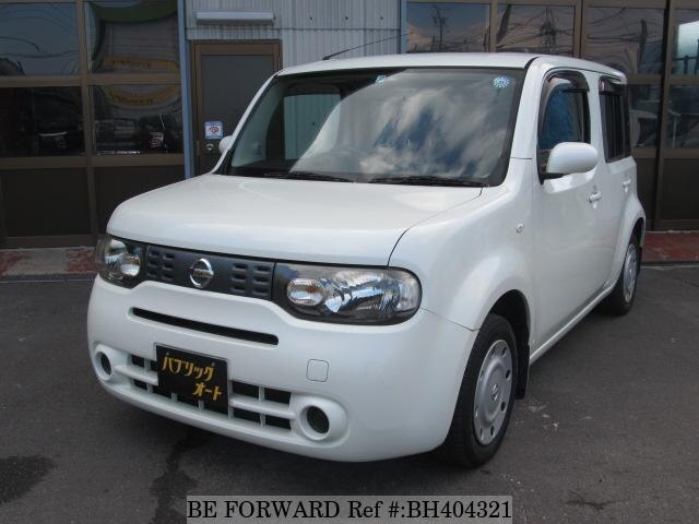 Used 2009 NISSAN CUBE BH404321 for Sale