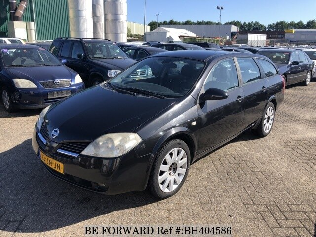 Used 2002 NISSAN PRIMERA BH404586 for Sale