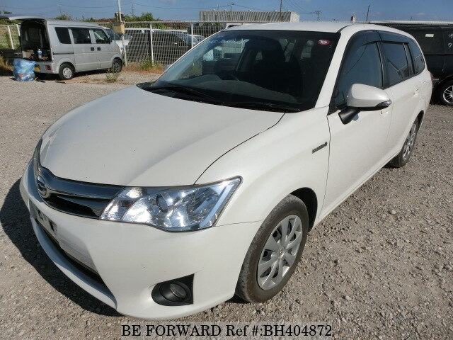 Used 2014 TOYOTA COROLLA FIELDER BH404872 for Sale