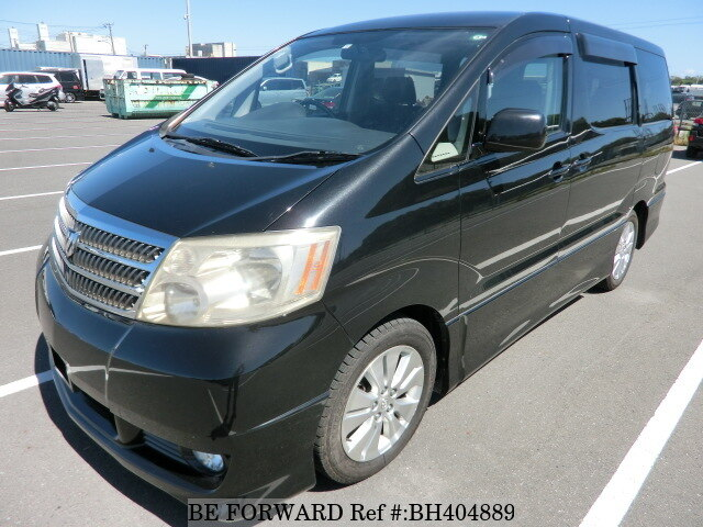 Used 2004 TOYOTA ALPHARD BH404889 for Sale