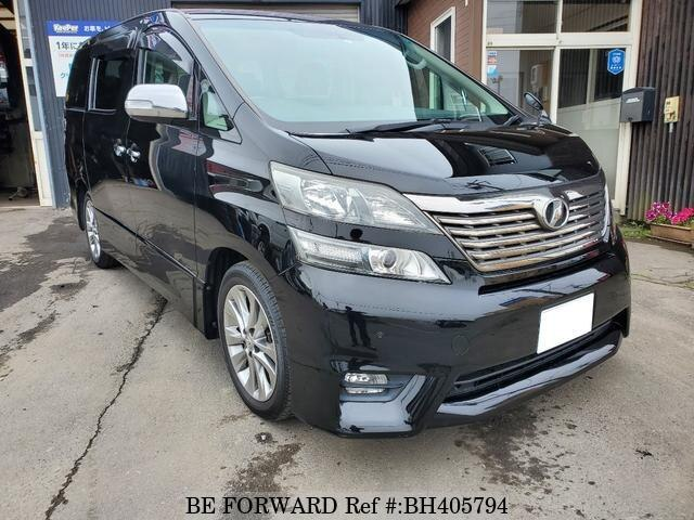 Used 2011 TOYOTA VELLFIRE BH405794 for Sale