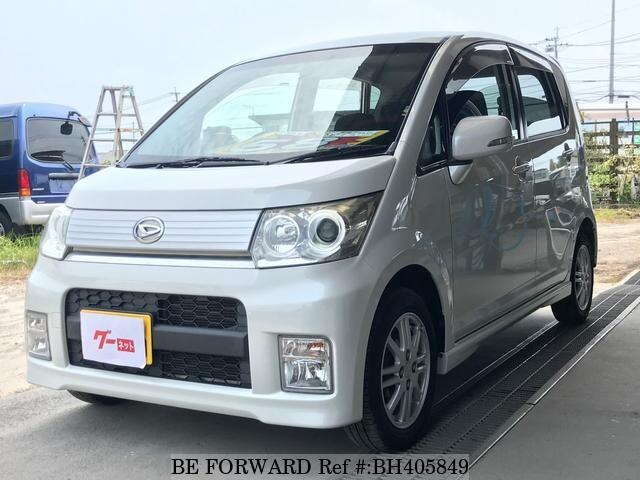Used 2010 DAIHATSU MOVE BH405849 for Sale