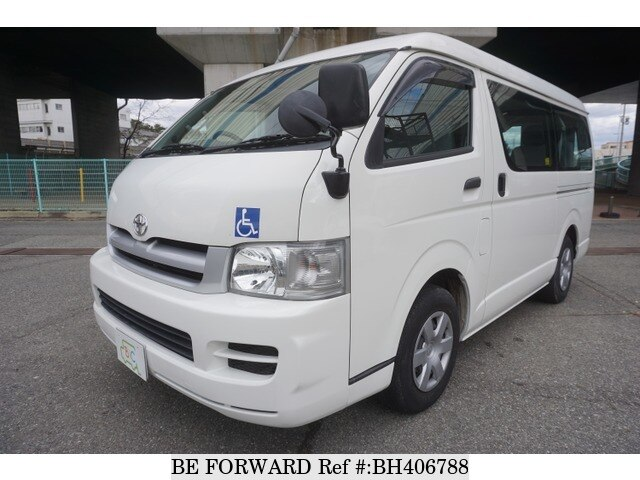 Used 2005 TOYOTA HIACE WAGON BH406788 for Sale