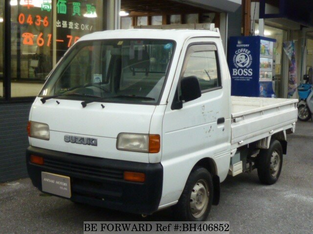 Used 1996 SUZUKI CARRY TRUCK BH406852 for Sale