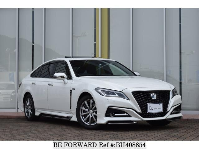 Used 2018 TOYOTA CROWN HYBRID BH408654 for Sale