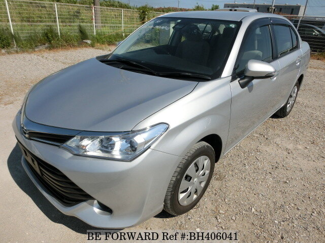 Used 2015 TOYOTA COROLLA AXIO BH406041 for Sale