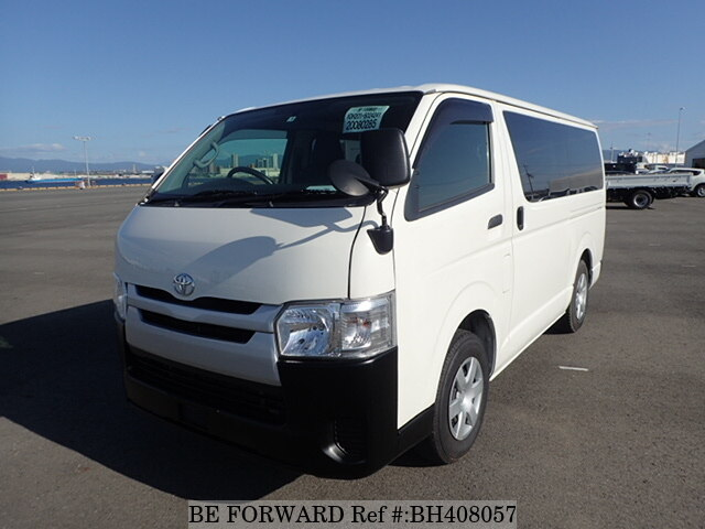 Used 2016 TOYOTA REGIUSACE VAN BH408057 for Sale