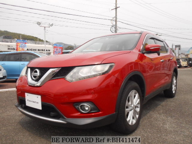 Used 2015 NISSAN X-TRAIL BH411474 for Sale