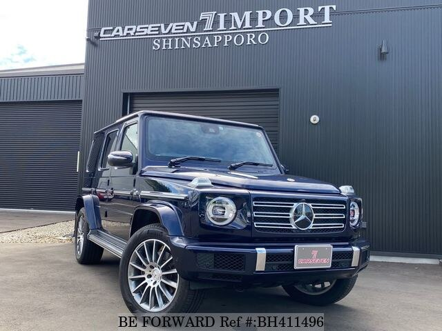 Used 2019 MERCEDES-BENZ G-CLASS/3DA-463349 for Sale BH411496 - BE FORWARD