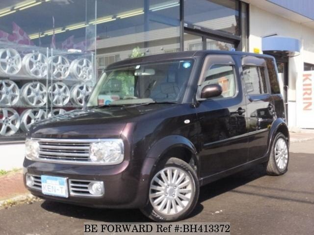 Used 2007 NISSAN CUBE BH413372 for Sale