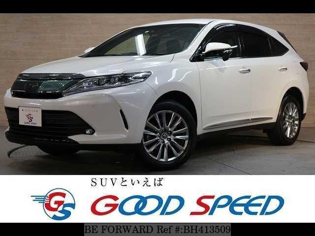 Used 2018 TOYOTA HARRIER BH413509 for Sale