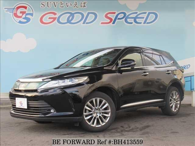 Used 2017 TOYOTA HARRIER BH413559 for Sale