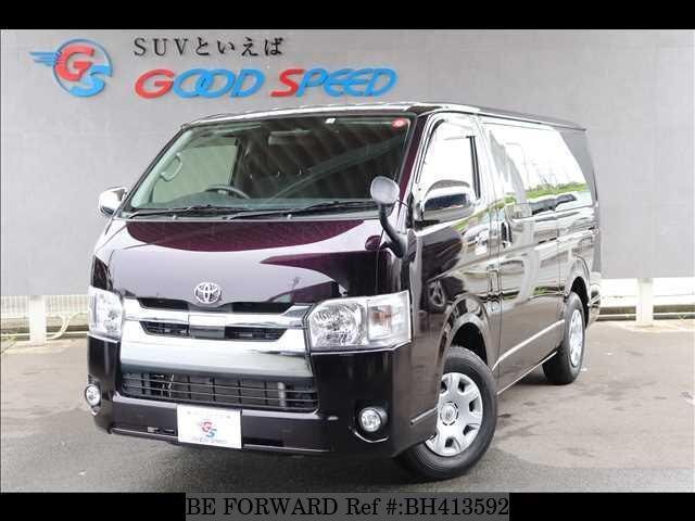 Used 2018 TOYOTA HIACE VAN BH413592 for Sale