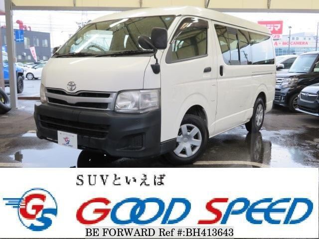 Used 2011 TOYOTA HIACE WAGON BH413643 for Sale