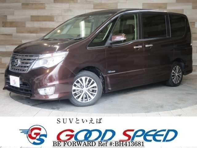 Used 2015 NISSAN SERENA BH413681 for Sale