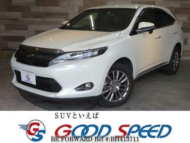 Used 2015 TOYOTA HARRIER BH413711 for Sale