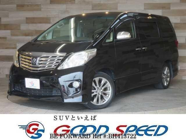 Used 2011 TOYOTA ALPHARD BH413722 for Sale