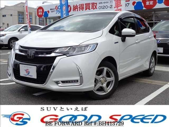 Used 2019 HONDA FIT HYBRID BH413729 for Sale