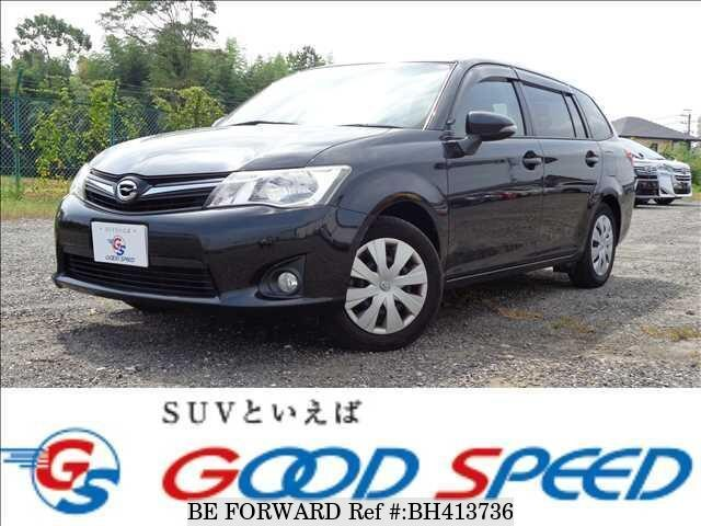 Used 2012 TOYOTA COROLLA FIELDER BH413736 for Sale
