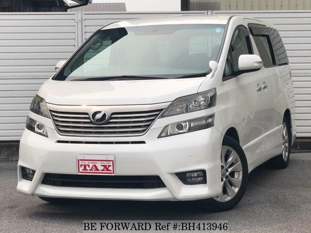 Used 2009 TOYOTA VELLFIRE BH413946 for Sale