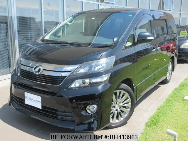 Used 2013 TOYOTA VELLFIRE BH413963 for Sale