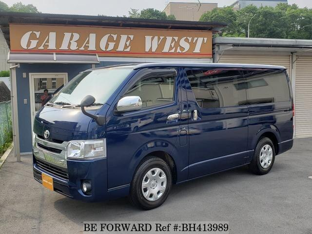 Used 2015 TOYOTA HIACE VAN BH413989 for Sale