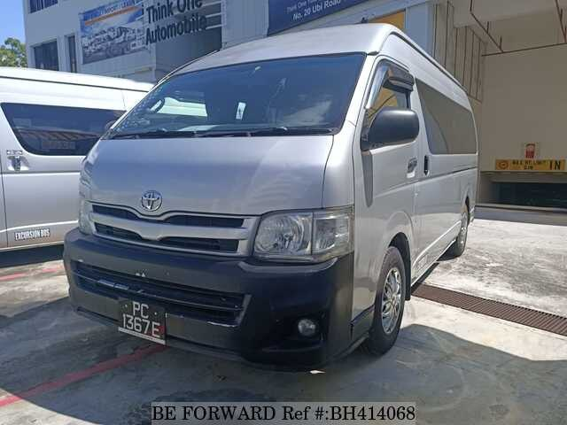 Used 2012 TOYOTA HIACE COMMUTER BH414068 for Sale