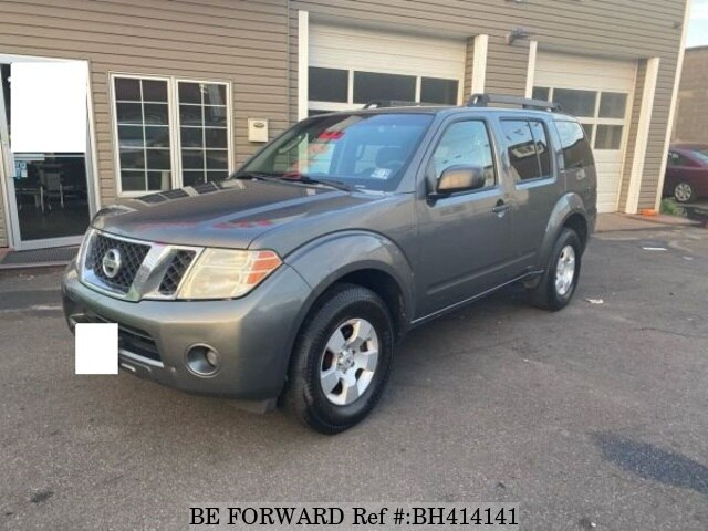 Used 2008 NISSAN PATHFINDER BH414141 for Sale