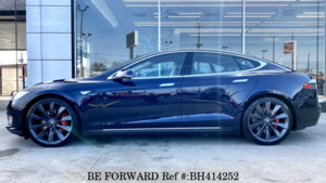 Used 2014 TESLA MODEL S BH414252 for Sale