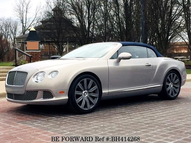 Used 2012 BENTLEY CONTINENTAL GT BH414268 for Sale