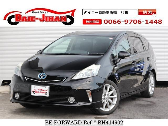 Used 2011 TOYOTA PRIUS ALPHA BH414902 for Sale