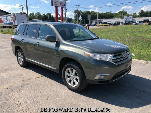 Used 2013 TOYOTA HIGHLANDER BH414956 for Sale