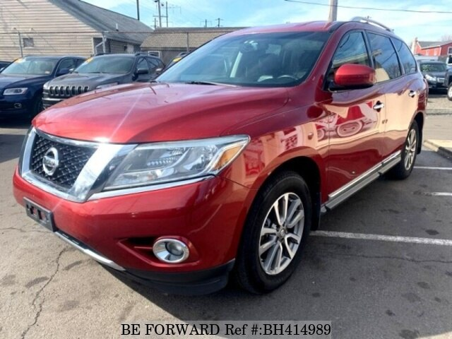 Used 2014 NISSAN PATHFINDER BH414989 for Sale