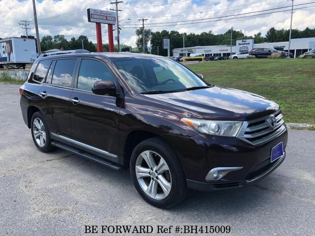 Used 2013 TOYOTA HIGHLANDER BH415009 for Sale