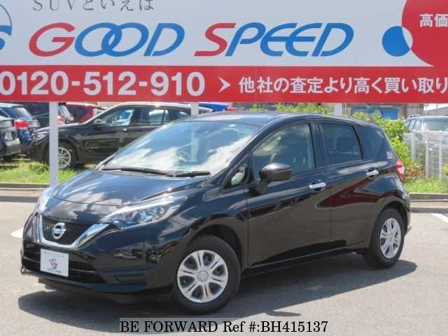 Used 2018 NISSAN NOTE BH415137 for Sale