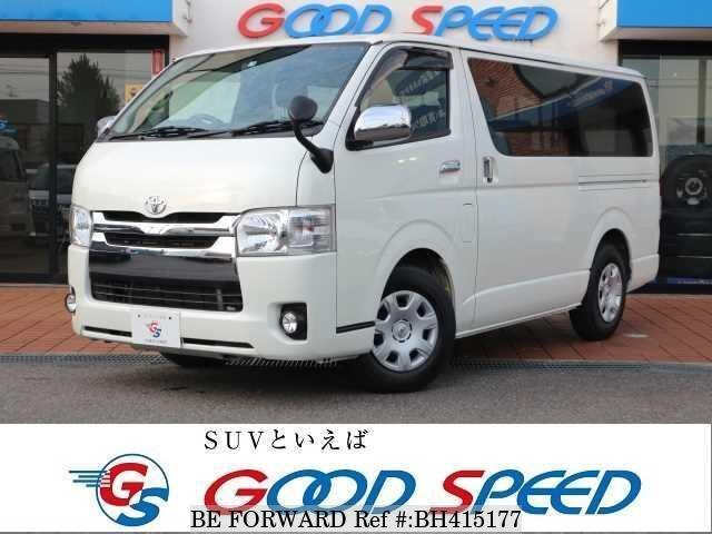 Used 2016 TOYOTA HIACE VAN BH415177 for Sale