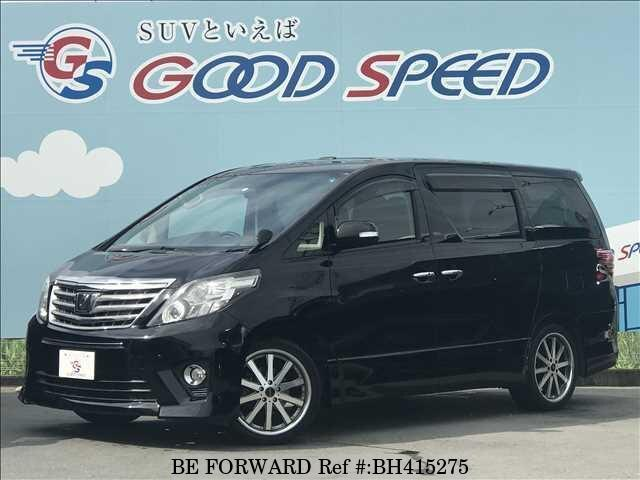 Used 2012 TOYOTA ALPHARD BH415275 for Sale
