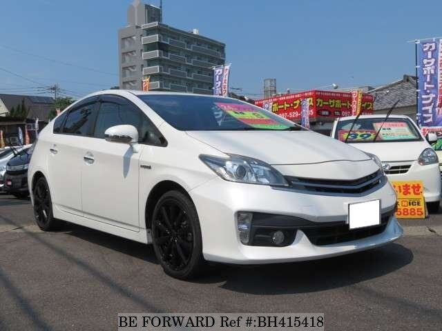 Used 2012 TOYOTA PRIUS BH415418 for Sale