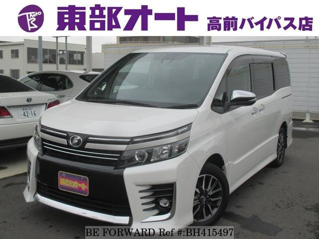 Used 2016 TOYOTA VOXY BH415497 for Sale