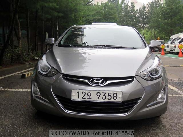 Used 2013 HYUNDAI AVANTE (ELANTRA) BH415545 for Sale