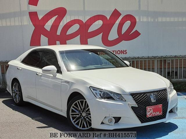 Used 2013 TOYOTA CROWN HYBRID BH415573 for Sale