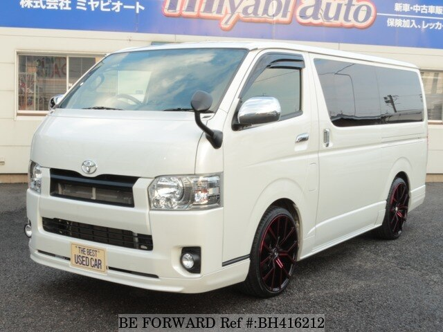 Used 2018 TOYOTA HIACE VAN BH416212 for Sale