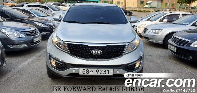 Used 2014 KIA SPORTAGE BH416376 for Sale