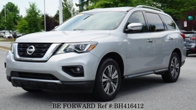 Used 2017 NISSAN PATHFINDER BH416412 for Sale