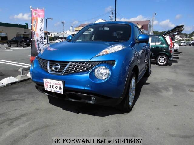 Used 2011 NISSAN JUKE BH416467 for Sale