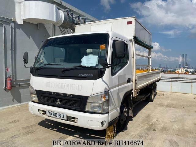 Used 2007 MITSUBISHI CANTER BH416874 for Sale