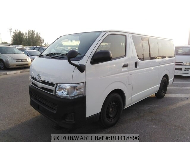 Used 2013 TOYOTA HIACE VAN BH418896 for Sale