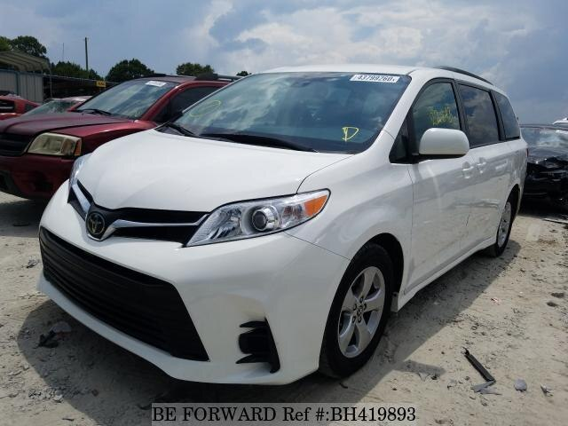 Used 2018 TOYOTA SIENNA BH419893 for Sale