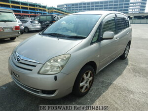 Used 2004 TOYOTA COROLLA SPACIO BH421165 for Sale