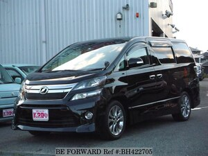 Used 2010 TOYOTA VELLFIRE BH422705 for Sale